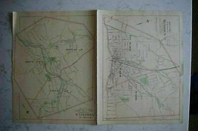 Map 1868 New Haven, Connecticut FW Beers 2
