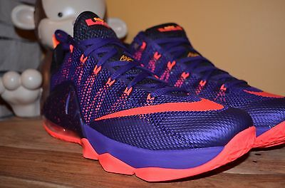 0b545696b6f0a ... 724557-565 3 3 of 10 NEW NIKE LEBRON 12 XII LOW