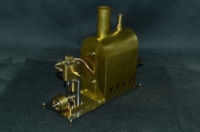 Dampfkessel mit Einzylinder-Dampfmaschine Q1B