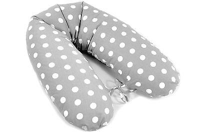 Stillkissen 170cm 100/% Baumwolle Schwangerschafts Lagerungskissen ekmTRADE W18