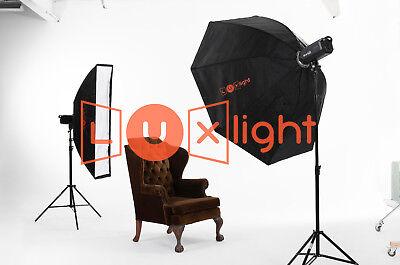 150cm Octabox & Grid | Bowens | LuxLight® | Photo Studio Flash Softbox Octobox 9
