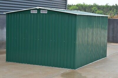 Mighty Metal Garden Shed Outdoor Storage House Tool Sheds with Free Foundation 4