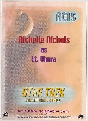 Star Trek Women Of Star Trek In Motion Archive Collection Ac15 Lt. Uhura 2