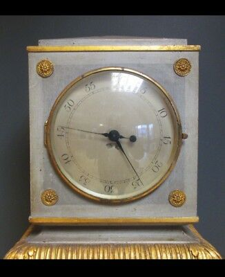 Continental Painted Neoclassical Style Regulator Grandfather Longcase Clock 2