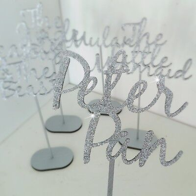 Wooden Table Names, Customised Table Names, Free Standing Wedding Table Names 7