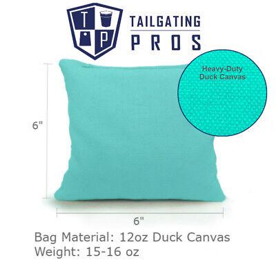 Set of 8 Cornhole Bags Regulation Size - 25 Colors -High Quality -  Corn Filled 2