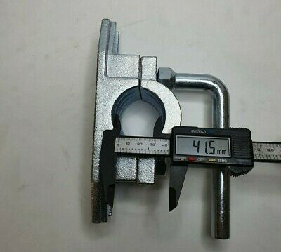 Serrated Steel Clamp 48Mm Ribbed Trailer Jockey Wheel Prop Stand Maypole Mp97455 6