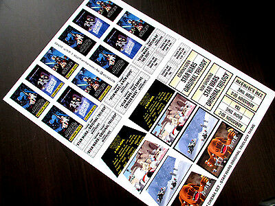 CUSTOM CINEMA STICKER SET for LEGO 10232 10184 -STAR WARS ORIGINAL TRILOGY THEME 2
