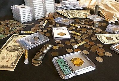 ✯ Estate Lot Sale ✯ Old US Coins ✯ GOLD .999 SILVER CURRENCY PROOF SET PCGS✯ 4