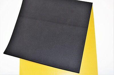 EPDM Zellkautschuk 2mm St/ärke 0,5mx1m einseitig selbstklebend schwarz