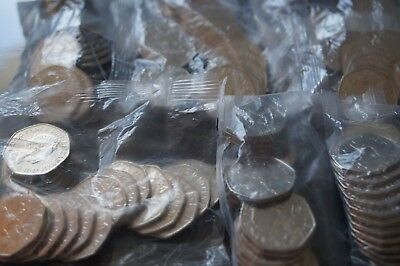 Sealed Mint Bag of 20 x 2017 Benjamin Bunny 50p Coin Beatrix Potter Uncirculated 4