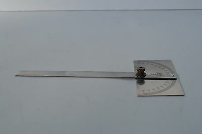 Fine Vintage General Hardware Mfg. Co. #17 Machinist Protractor Gauge 5