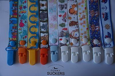 BABY GIRL / BABY BOY NEWBORN Handmade  Dummy Clips / Pacifier Clip / Chain 5