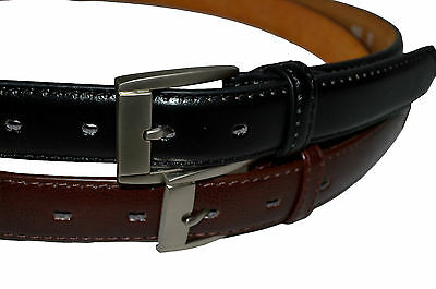 Belt Dress Mens Big And Tall Set Of 2 Black  Brown Free Shipping Gift Idea New 2
