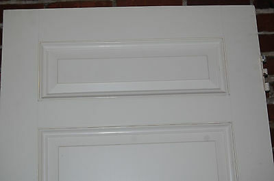 Vintage 3 Panel Solid Wood Door Several Sizes Available Architectural Salvage 3