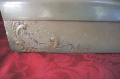 Sale!!! Antique? Vintage? Long Box With French Provincial Style Scene