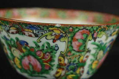 Excellent Old Chinese Famille Soup Cup, part of collection [Y8-W7-A9] 4
