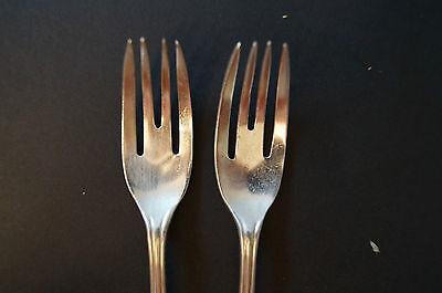 Collectable - Vintage - Group Lot of 6 - Dessert Forks