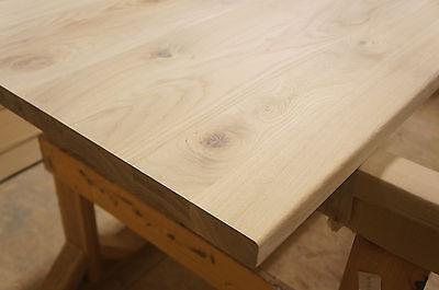 Tischplatte Arbeitsplatte Massivholzplatte Esstisch Eiche Rustikal