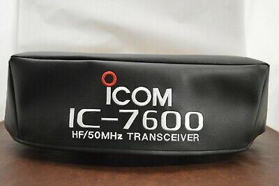 Icom IC-7800 w// rack handles Signature Series Ham Radio Amateur Radio Dust Cover