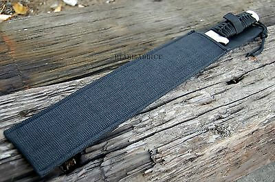 """20"""" SURVIVAL HUNTING Bowie Military FULL TANG MACHETE Fixed Blade Knife SWORD 5"""