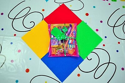 Childrens Pre Filled Party Parcels Bags, Kids Birthday, Wedding Favors Rewards 11