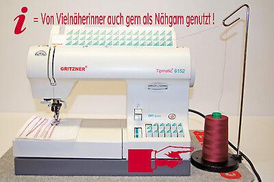 (0,65€/Km) Ackermann Overlockgarn 4 Konen á 5000m~4er Box~20 Farben~Fotomodelle 4