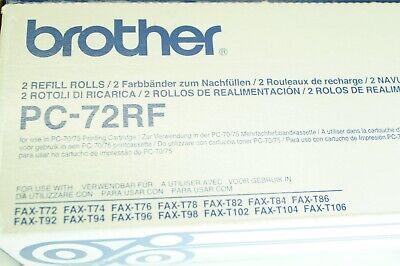 For Brother PC72RF  T72 T74 T76 T94 T96  T106 SMCO Fax Film 1 ROLL