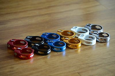Modifiedcomponents KL68 Seat Post CLAMP Size Lock//Bolt On 31.8mm