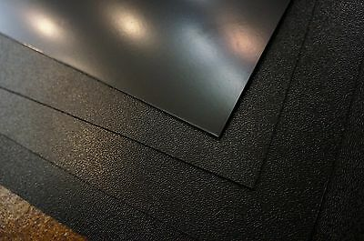 1 Black HDPE Polyethylene Plastic Sheet//Mat//Cover 24x24x1//8 0.125