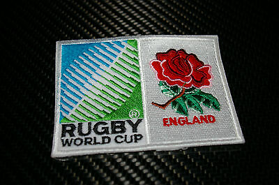 Rugby World Cup Sew On Patches - England - All Blacks (New Zealand) Brand New