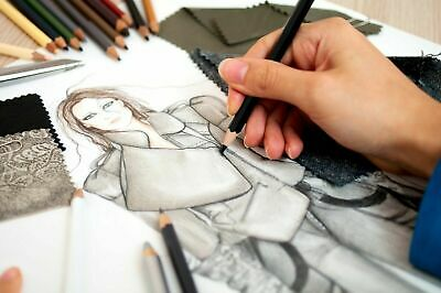 12x Graded Pencils Drawing Sketching Tones Shades Art Artist Picture Pencil Draw 8