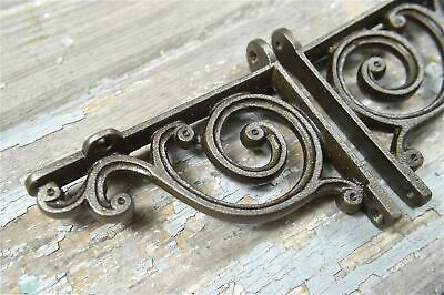 A Pair Of Small Victorian Style Scroll Brackets Cast Iron Shelf Bracket V1 2