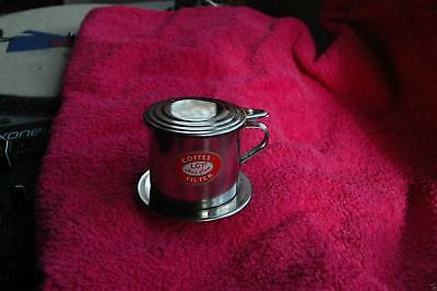 New Genuine Vietnamese Asian One Cup Coffee Pot Filter Maker V4 Expresso 3