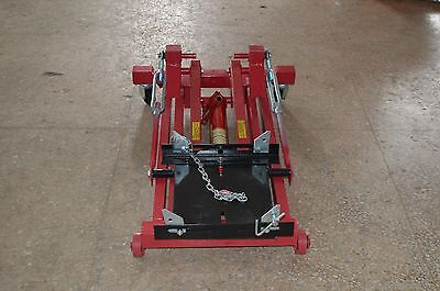 4400LBS LOW PROFILE Transmission Jack 2 Ton Hydraulic Lift Low Lift Jack