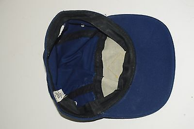 1970s Vintage Boy Scouts BSA Webelos Boy's Navy Blue Fitted Hat Cap Size 6 3/4
