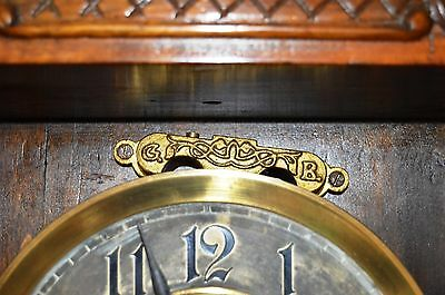 Antique Original Gustav Becker Wall Clock Huge 143 Cm Vienna Regulator 8