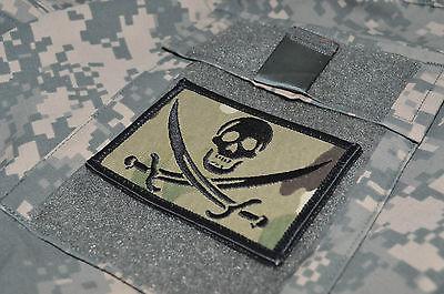 KANDAHAR WHACKER JSOC EXPLOSIVE ORDNANCE BOMB DISPOSAL EOD US FLAG 2-INSIGNIA