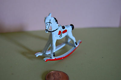 Metal #G8002-1//12 th scale Miniature Rocking Horse Small