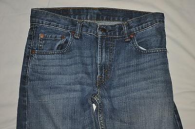 81e1a55612e ... LEVIS 505 Boys/Girls 14 reg 27 x 27 blue denim straight Leg jeans red