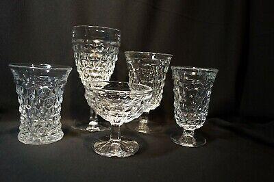 Fostoria Elegant American No. 2056 Cubist Glassware 2