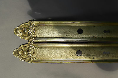 Antique French Door Knob BackPlates Finger Plate - French Castle Chateau Manor 5