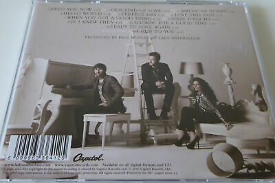 Lady Antebellum - Need You Now - NM (CD) 2