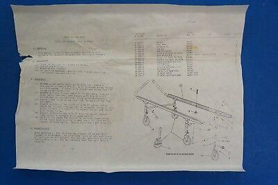 Brenner Metal Cart Orthopedic Bed Stryker 10