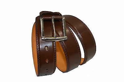 """Belt Mens Jeans Brown  All Sizes 30""""-60""""  Genuine Leather Stylish Casual Belt 2"""
