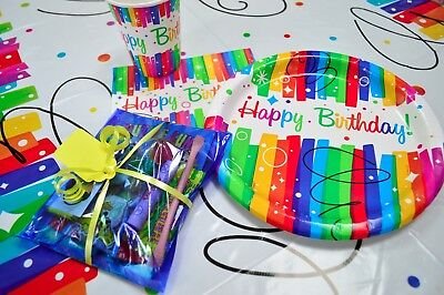 Childrens Pre Filled Party Parcels Bags, Kids Birthday, Wedding Favors Rewards 10