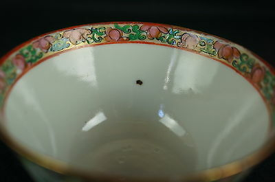 Excellent Old Chinese Famille Soup Cup, part of collection [Y8-W7-A9] 5