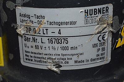 HUBNER Analog-Tacho TDP 0,2 LT-4 + ESL 93