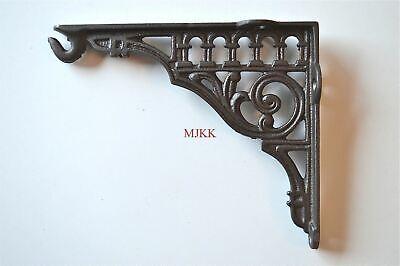 Antique style cast iron hook bracket lantern shelf bracket hanging basket SLB1 3