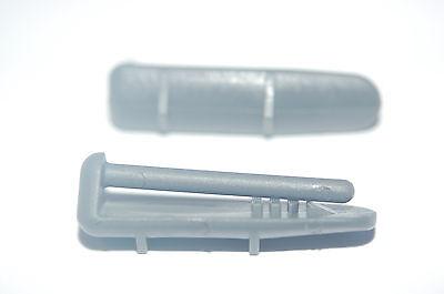 DISHWASHER BASKET REAR RAIL CAP RUNNER FOR LAMONA HOWDEN HJA8362 HJA8630 HJA8631